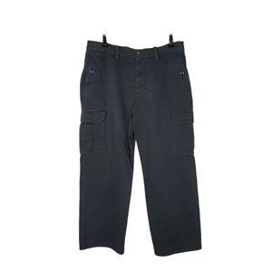 Eddie Bauer Cotton Canvas Cargo Utility Fit Pants